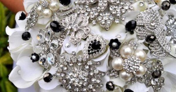 Bridal bouquet - Tuxedo Hydrangea Bouquet #wedding #black #bouquet