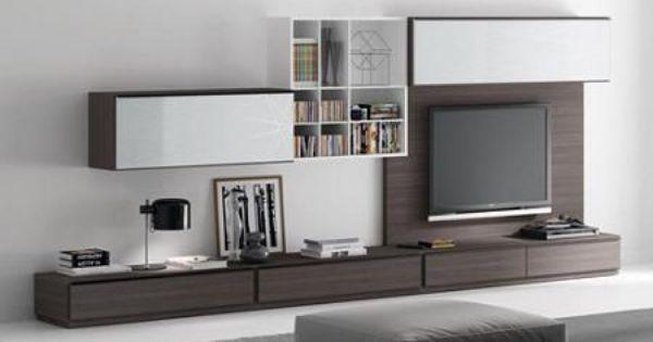 Muebles de tv modernos buscar con google rec mara for Muebles televisor moderno