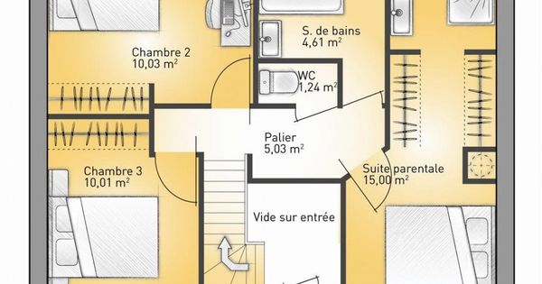 plan maison neuve construire maisons france confort city 98 villas pinterest. Black Bedroom Furniture Sets. Home Design Ideas
