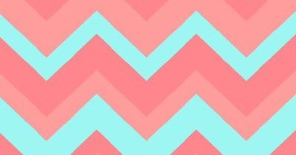 Blue and pink chevron wallpaper wallpapers pinterest for Blue chevron wallpaper