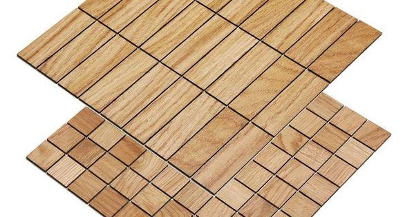Holzmosaik Eiche Kaminholz Eiche Rustikal Holz