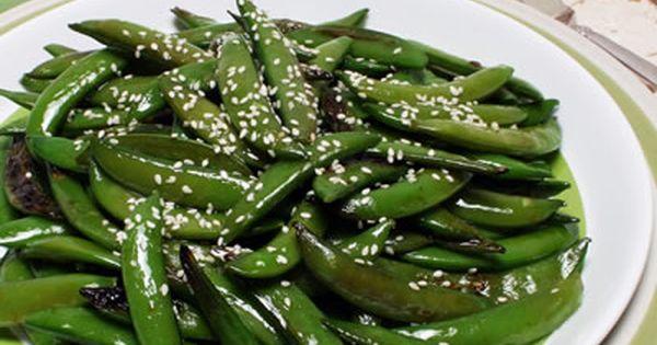 Sesame Sugar Snap Peas Recipe - Diabetic Gourmet Magazine - Diabetic ...