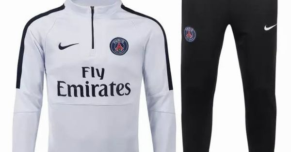 vente nouveau survetement de foot psg blanc 2015 2016 saison maillot foot pas cher 2015 2016. Black Bedroom Furniture Sets. Home Design Ideas