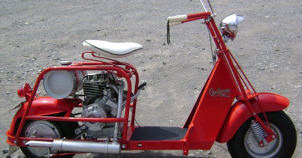 1950 Cushman Highlander Scooter Motor Scooters Scooter Motor Scooters For Sale