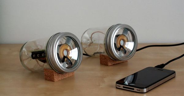 The Audiojar by Sarah Pease is a Fun and Classy Do-It-Yourself Project