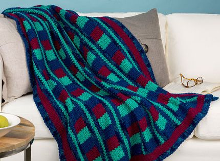 Crochet Patterns Intermediate : Luxurious Comfort Throw Crochet Pattern - the perfect intermediate ...