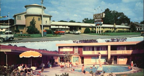 Castle motel 1125 north 11th beaumont texas 1967 for 11th street motors beaumont tx