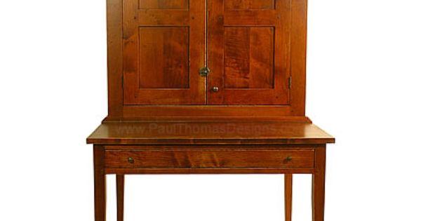 Fairmont Desk and Hutch Furniture Pinterest Desks