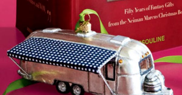 Airstream christmas ornament let 39 s go rving for Airstream christmas decoration
