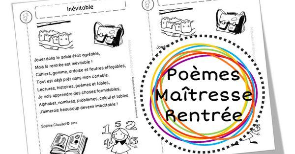 Dossier de poèmes pour faire son choix avant septembre, et se renouveler