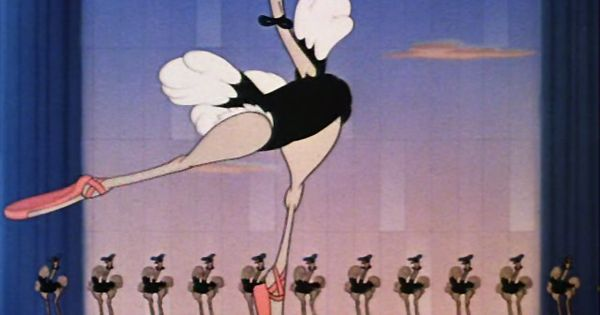 """In Fantasia, In The """"Dance Of The Hours"""" Segment The Name"""