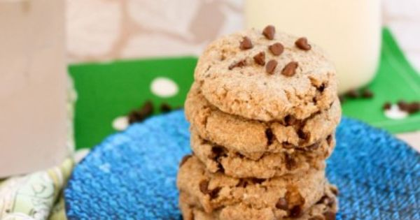 Chocolate chips, Healthy chocolate chip cookies and Healthy on ...