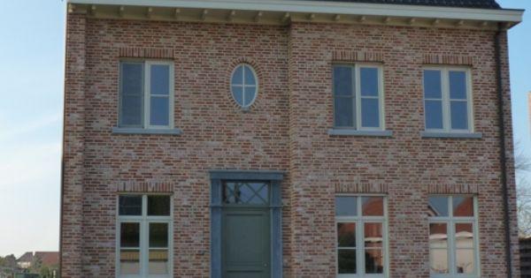 Nieuwe oude paapsteen mengeling f oude en verouderde bouwmaterialen exterieur pinterest - Decoratie gevel exterieur huis ...