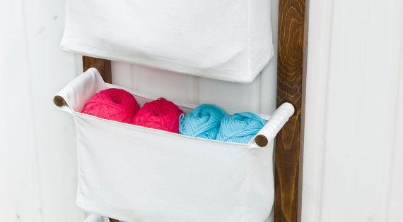 Diaper Caddy Wall Hanging Organizer Nursery Storage