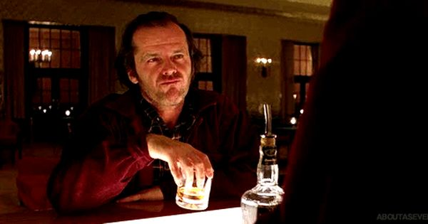 The Bar Bartender In The Shining Stanley Kubrick Cinemagraph