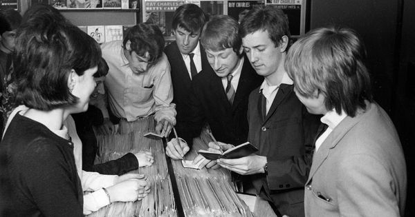 The Yardbirds With Eric Clapton Uk Rockers 60 S