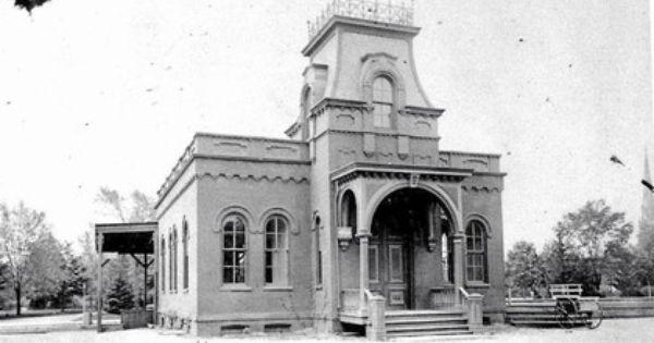 The Original Garden City Station Replaced In 1892 Garden City