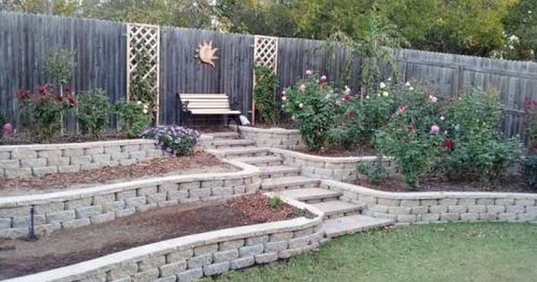 Pavestone 4 In X 11 75 In X 6 75 In Trinity Blend Concrete Retaining Wall Block 81195 The Home Depot Landscaping Retaining Walls Concrete Retaining Walls Small House Landscaping