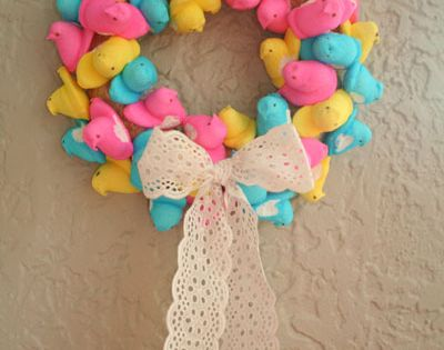 Peeps Easter Wreath!