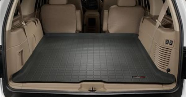 Chevy Suburban Seating >> 2012 Ford Expedition Cargo Liner by WeatherTech. Fits rear area of vehicle behind either 2nd or ...