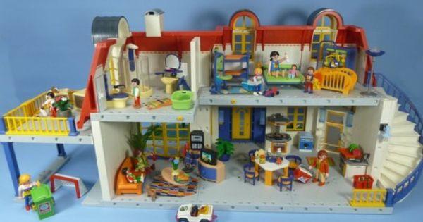 Playmobil modern house back good old days pinterest playmobil houses and modern houses - Piscine moderne playmobil ...