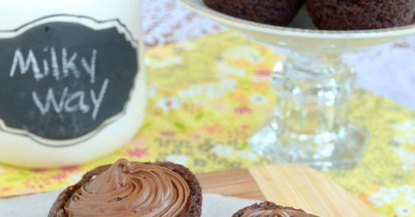 ... Way Brownie Cups | Recipe | Milky Way, Brownies and Brownie Bites