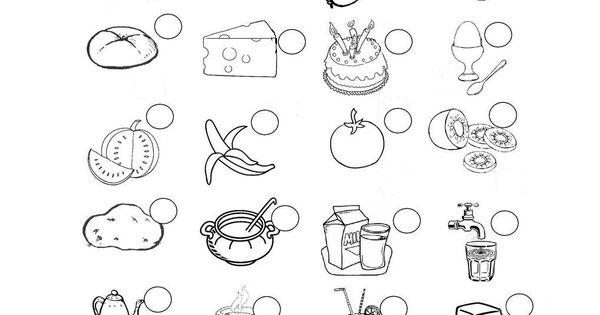 Ausmalbilder Wurst: Essen Und Trinken Ausmalen