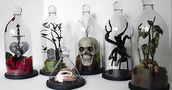 Putting together this roundup of spooktacular Halloween DIYs gave us chills! From creepy crawly spiders to apothecary jars containing who knows what, there are