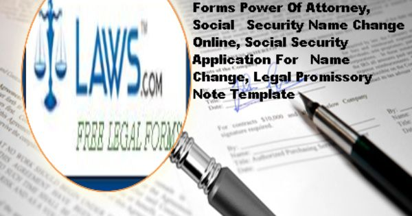 A promissory note is a important document by which a borrower - social security name change form