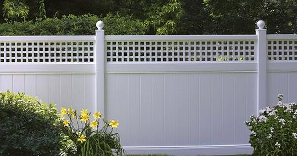 Chesterfield With Westminster Accent Vinyl Fencing Summit Fence
