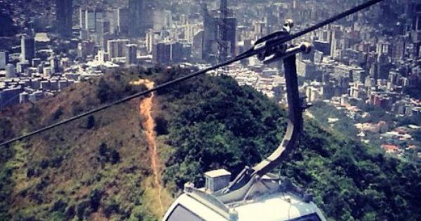La vista de Caracas desde e l Avila