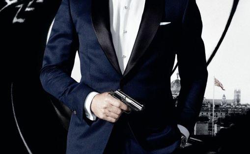 James Bond 007 - Skyfall ( 2012 ) Daniel Craig, Javier Bardem