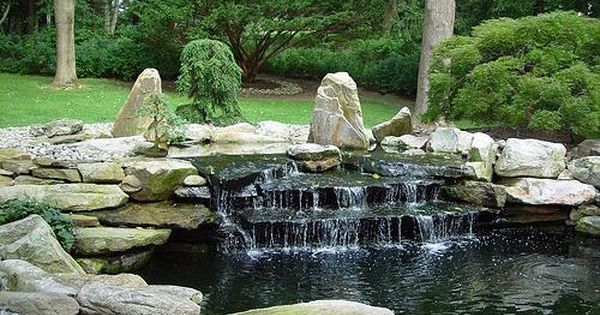 Ponds And Waterfalls Ideas Koi Fish Pond Designs Garden Ideas Pinterest Koi Fish Pond