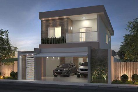 Casa De Piso Con 3 Habitaciones Planos De Casas Modelos De