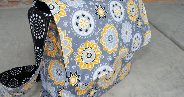 Messenger Bag Tutorial and Pattern someday i'm going to learn to use