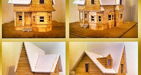 Maqueta casa up hobbys proyecto house up pixar disney - Maqueta casa up ...