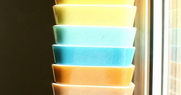 Pyrex refrigerator Vintage Styles| http://babyanimalsblaise.blogspot.com