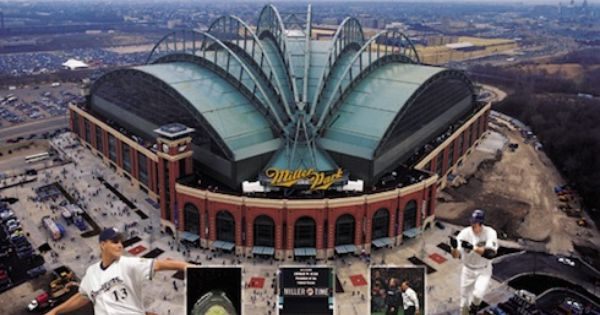 Mike Gustafson Autographed Miller Park Lithograph Http Www Outbid Com Auctions 4731 Out To The Ball Game With Ma Insurance Auto Auction Car Auctions Auction
