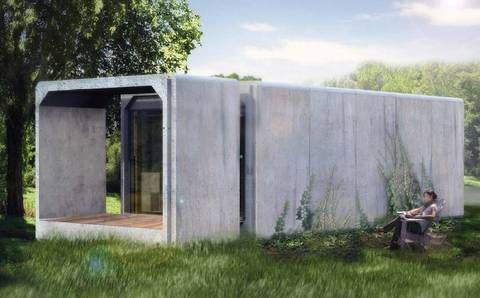 Some Innovative Ideas For Providing Good Low Cost Housing For The Homeless Green Architecture House Design Concrete Houses