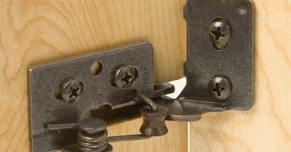 Snap Closing Semi Concealed Hinges For 1 4 Quot Overlay