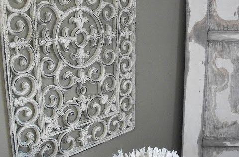 Pretend your rubber door mat is antiqued iron. | 21 Weird Home