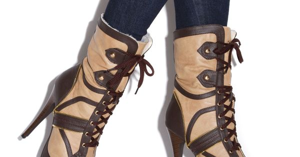 Oh my goodness...yes! From ShoeDazzle Kadesia boots booties winter heels shoes