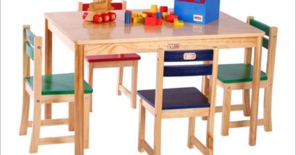 Tikk Tokk Boss Rectangular Table And Chair Set Rectangular Table Chair Set Table And Chair Sets