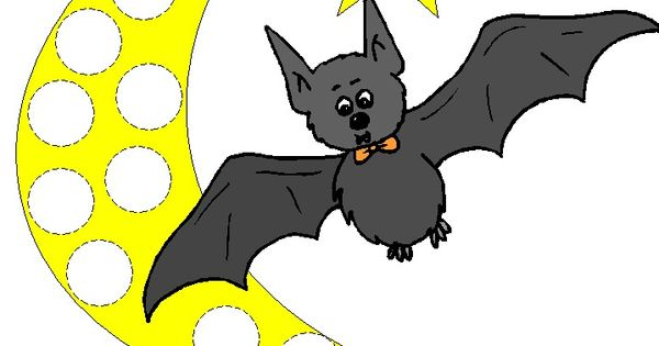 Bats Themed Bingo Dauber Coloring Pages Use Bingo Daubers