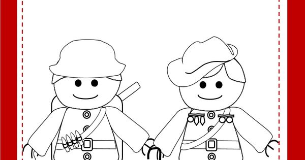 Anzac Day Colouring Printables Coloring In S