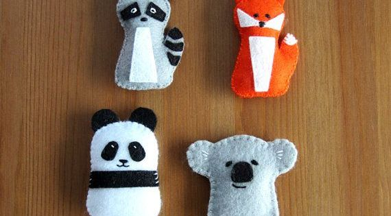 Koala patterns for sewing pdf pattern a felt panda