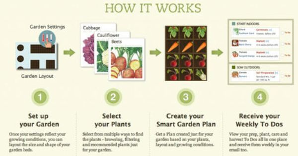 Plan Your Garden Online Get Help With How And When To Plant And Take Care Of You Vegetable Garden Planner Garden Planning Layout Vegetable Garden Layout Plan