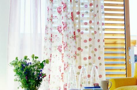 Layering Sheer Curtains Over Wooden Blinds Leaves You With
