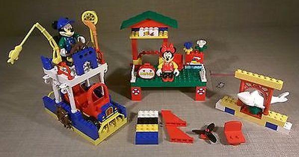 Lego Mickey Mouse Mickeys Fishing Adventure 4178 Minnie Shark Boat Lego Mickey Mouse Fishing Adventure Mickey Mouse