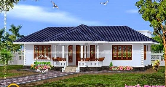 House Plan Of Single Floor House Kerala House Design House Plan Gallery One Storey House